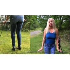 Amanda Pees Her Jeans (MP4) - Amanda Foxx