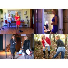 Amber Wells & Lily Anna Remastered: Volume 1 (MP4) - 92 minutes