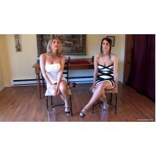 Carissa & Lavender Holding Contest Remastered (MP4) - Carissa Montgomery & Lavender