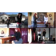 Carissa Montgomery & Scarlett Storm Set (MP4) - 64 minutes