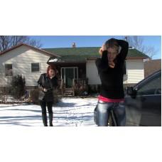 Carissa's Massive Flood (MP4) - Carissa Montgomery & Scarlett Storm