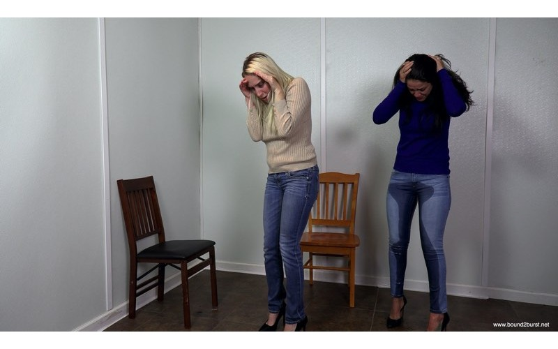 Confined Without A Bathroom: Part 2 (MP4) - Cadence Lux and Jasmine St James