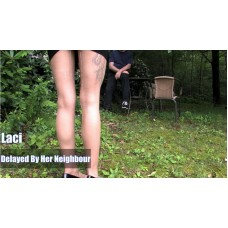 Delayed By Her Neighbour (MP4) - Laci Star