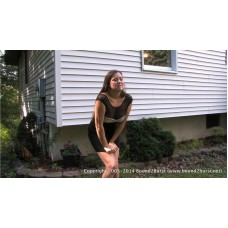 Delayed Until She Wet Herself (MP4) - Becky LeSabre