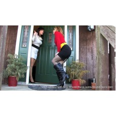 Desperately Out of Date (MP4) - Candle Boxxx & Dixie Comet