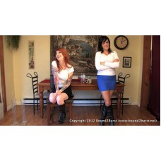 Holding Contest 13 (MP4) - Dixie Comet and Scarlett Storm