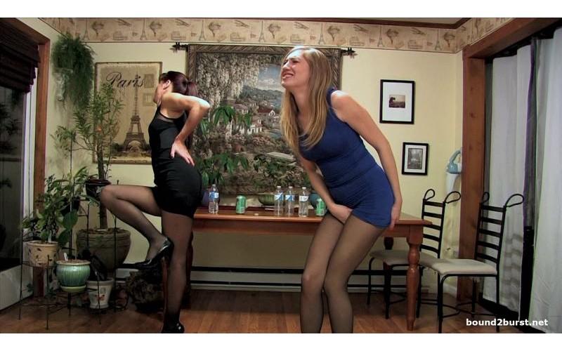 Holding Contest 21 enhanced (MP4 1080p) - Autumn Bodell & Laci Star
