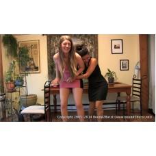 Holding Contest 22 (MP4) - Keri Spectrum & Jamie Daniels