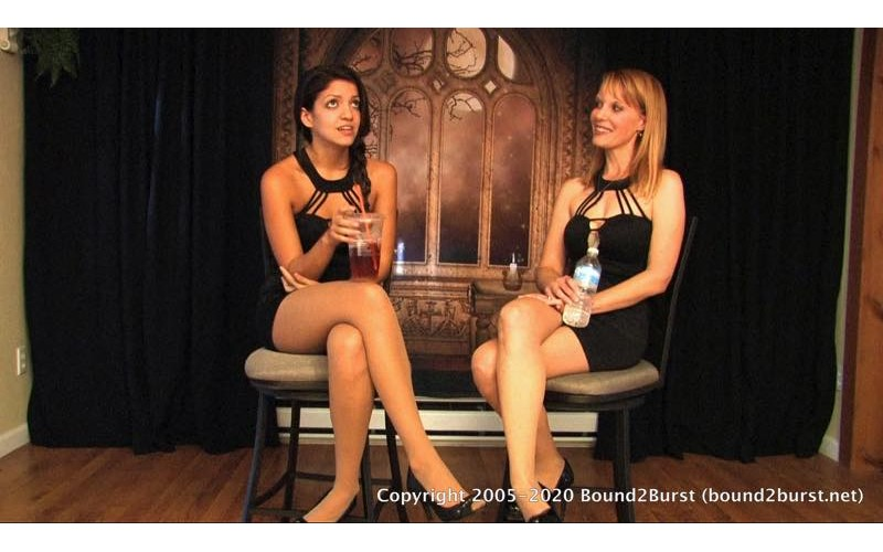 Holding Contest Remastered: Amber Wells and Jasmine St James
