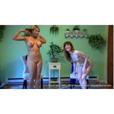 Holding Contest: Becca & Carissa (MP4) - Carissa Montgomery & Becca