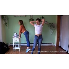 Cadence & Juliette Holding Contest (MP4) - Cadence Lux & Juliette March