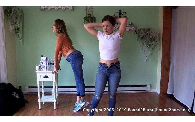 Cadence & Juliette Holding Contest (MP4) - Cadence Lux & Juliette March