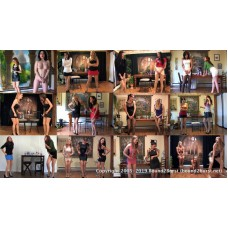 Holding Contest Climaxes (MP4 1080p) - 17 girls - 58 minutes