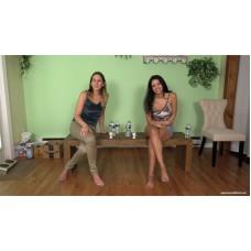 Jasmine & Sinthia Desperation Quiz (MP4) - Jasmine St James & Sinthia Bee