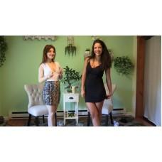 Jasmine & Becca Holding Contest (MP4) - Jasmine St James & Becca