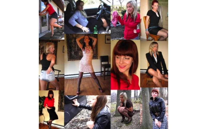 Just Skirts 12 (MP4) - 65 minutes
