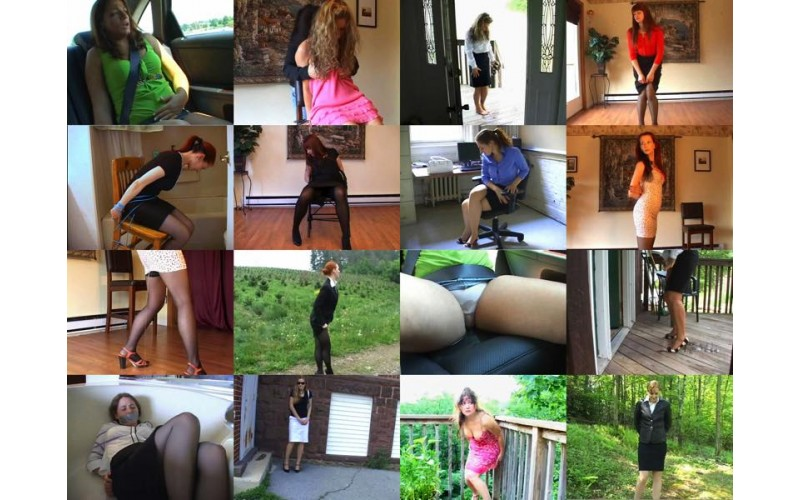Just Skirts 13 (MP4) - 58 minutes