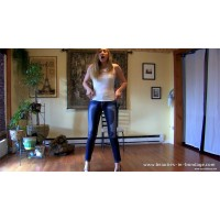 Laci Wets Her Jeans enhanced (MP4) - Laci Star