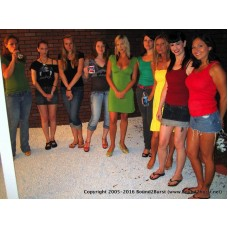 Line at the Ladies Remastered (MP4) - Lola, Nyxon, Madison, Tabitha, Jayne, Rachael, Jynx, Danielle & Beverly
