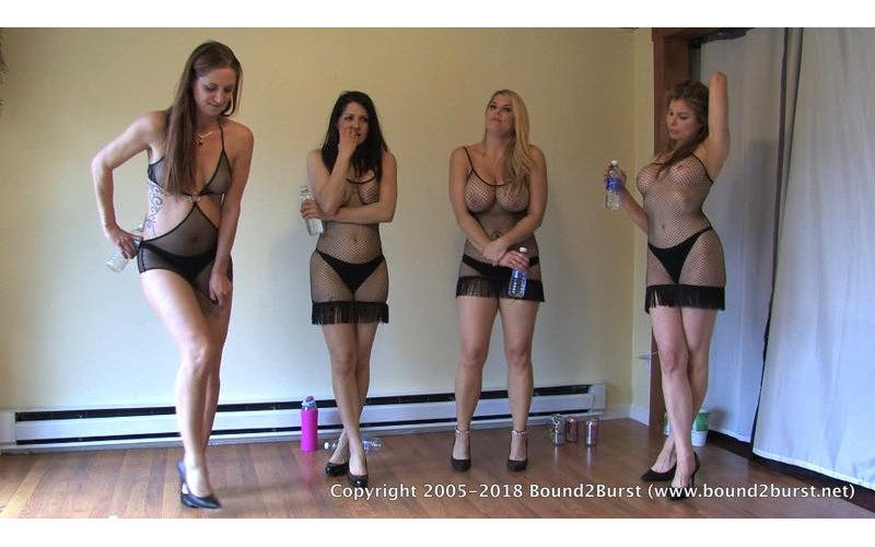 Mind Over Bladder Remastered (MP4) - Candle Boxxx, Hannah Perez, Carissa Montgomery & Autumn Bodell