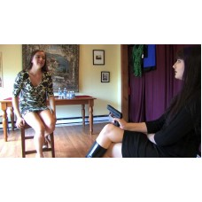 Paige Denies Becky the Toilet (MP4) - Paige Turner & Becky LeSabre