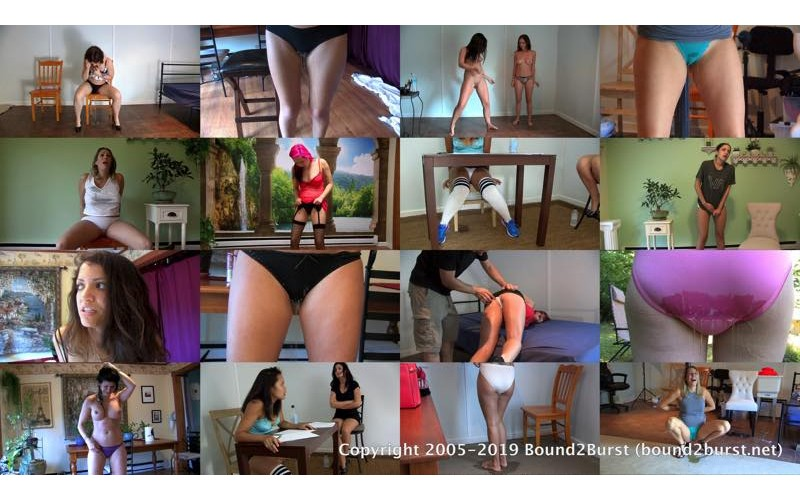 Panty Wetting: Volume 2 (MP4) - 40 minutes