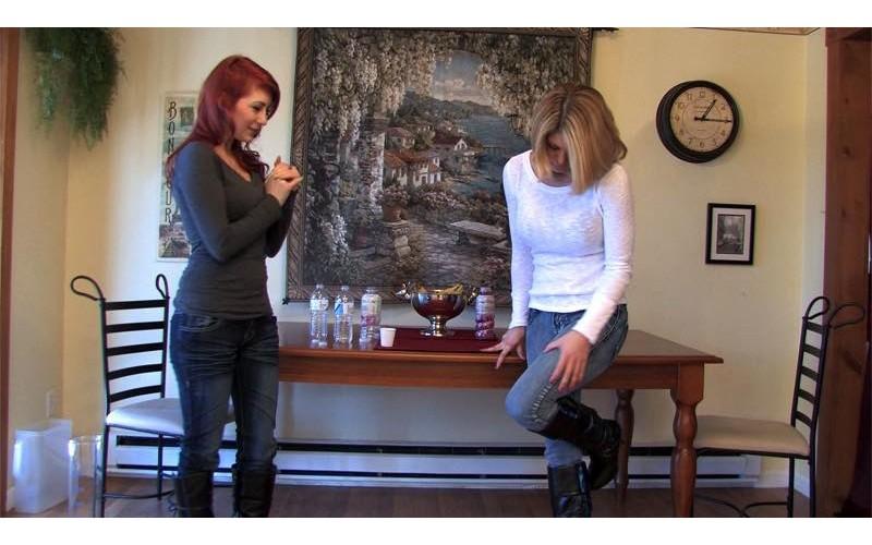 Permission To Pee 06 (MP4) - Carissa Montgomery & Scarlett Storm