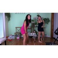 Cadence & Jasmine: Permission To Pee (MP4) - Cadence Lux & Jasmine St james