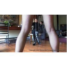 Burglar Made Her Wet Herself (MP4) - Candle Boxxx & Jasmine St James