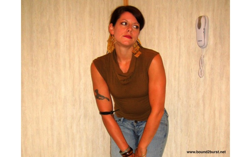 Trapped In An Elevator 4 Remastered (MP4) - Beverly Bacci