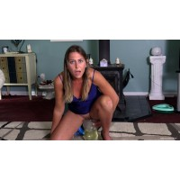 Trying To Set A New Record (MP4) - Sinthia Bee