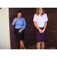 Work Break Disaster Remastered (MP4) - Lily Anna & Tina